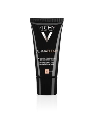 Vichy VICHY Dermablend Likit Düzeltici Fondöten SPF35 30 ml - NUDE 25 Ten